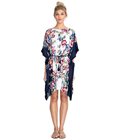 Johnny Was Maya Fringed Dress (Multi) Women