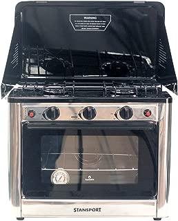 Stansport Propane Outdoor Camp Oven and 2 Burner Range