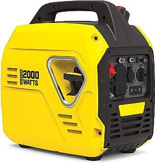 LIUDOU 3000W Mini Camping Camping Portable Portable Gasoline Generator Equipo De Energía Ultralight Portable Inverter Generador