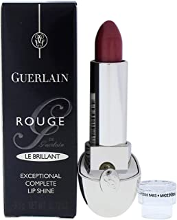 Guerlain Le Brillant Exceptional Complete Lip Shine B62 Betsy For Women - 0.12 Oz - Dark Brown