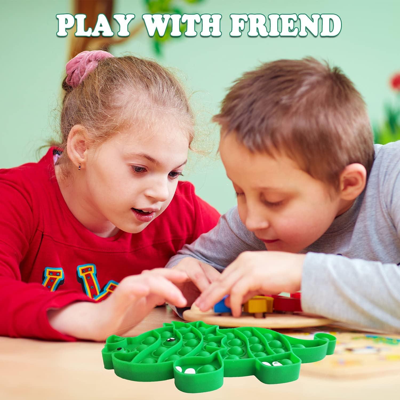 Dinosaur Push Pop Pop Bubble Sensory Fidget Shiatsu Toys Pop Fidget Toys for Stress /& Anxiety Relief