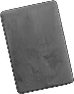 "Clara Clark Non Slip Memory Foam Tub-Shower Bath Rug Large (20"" X 32"") Gray"