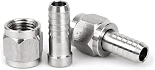 FERRODAY Disconnects Set Flared Gas In and Liquid Out with 2 Swivel Nut Stems for Cornelius Corny Keg (Swivel Nut)