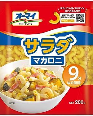 Four Oh my salad macaroni 200g ×
