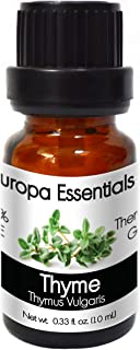 Europa Essentials 100% Pure Therapeutic Grade Essential Oils, 31 Aromatherapy Scents Collection – Thyme, 10ml, B06Y5MYHMZ