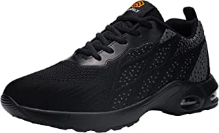 DKMILYAIR Impermeable Zapatillas de Seguridad Hombre Colchón de Aire Zapatos de Seguridad Trabajo Ligeras Respirable Punta...