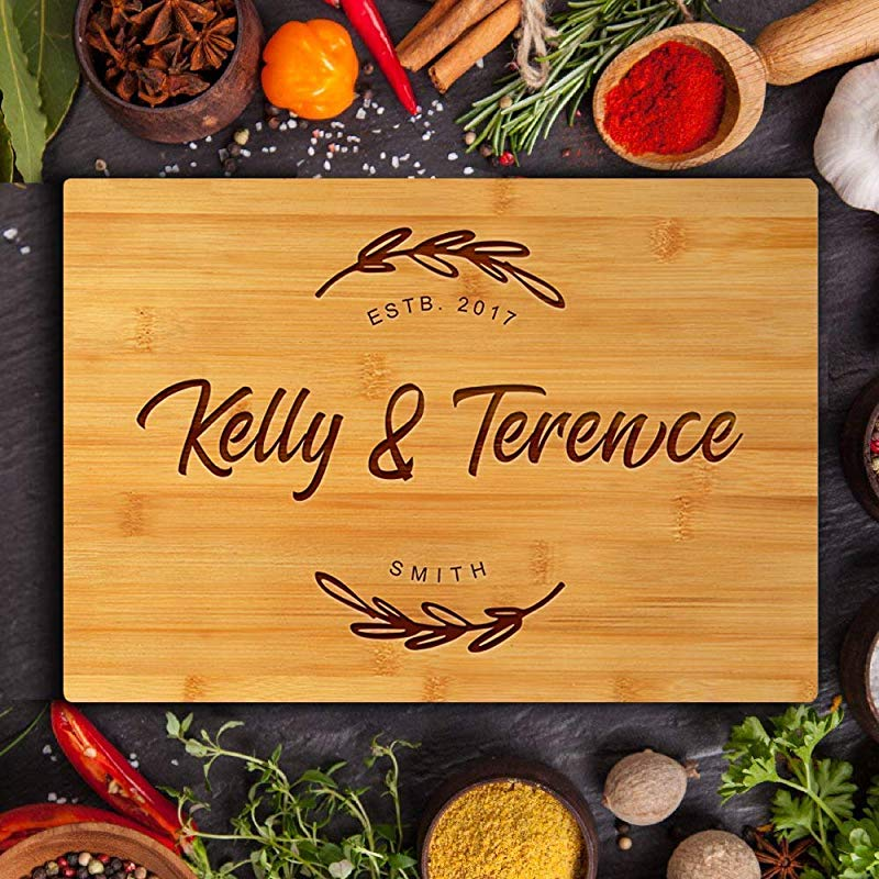 Early Christmas Gifts Personalized Cutting Board Engraved Chopping Boards For Kitchen Wedding Anniversary Housewarming Gifts For The Couple Mom Father Parents