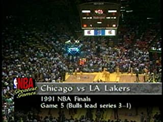 1991 NBA Finals Game 5: Los Angeles Lakers vs Chicago Bulls (6/12/1991)