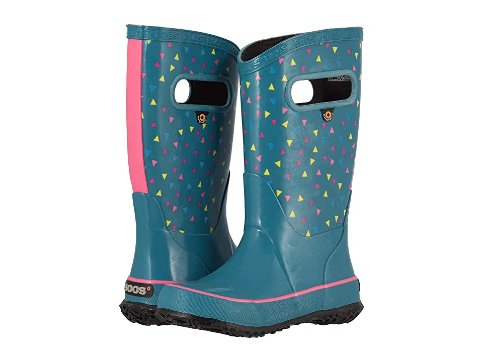 Bogs Kids Rain Boot Tdots (Toddler/Little Kid/Big Kid) (Dark Blue Multi) Girls Shoes