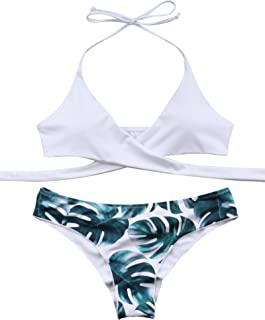 86a97931c9e MOOSKINI Womens Padded Push-up Bikini Set Bathing Suits Two Pieces Swimsuit