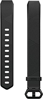 Fitbit Alta HR Classic Accessory Band, Black, Large