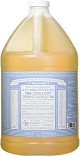 Dr. Bronner's Pure-Castile Liquid Soap - Baby Unscented, 1 Gallon
