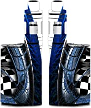 Decal Kid Skin for Smok GX350 - Sidewinder Blue | Protective, Durable, Unique Vinyl Decal wrap Cover | Easy to Apply, Remove, and Change Styles and Change Styles
