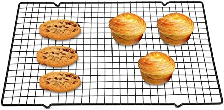 Yosoo Cooling and Baking Roasting Rack Stainless Steel Nonstick Cooking Grill Tray for Biscuit Cake Bread 15.94 x 9.84 x ...