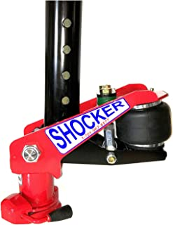 Shocker Gooseneck Surge Air Hitch for Sooner Horse Trailers with Bulldog BX1 24,000 lbs Coupler for 2-5/16 Inch Ball - Replaces Factory 4 Inch Round Stem & Coupler