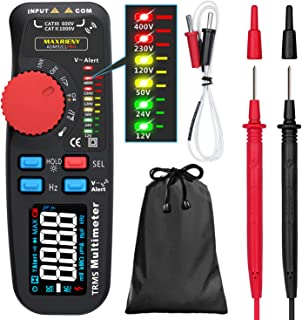 Maxrieny Professional Multimeter Digital Voltage Tester Color Display True RMS 6000 Counts Auto-Ranging Voltmeter Capacita...