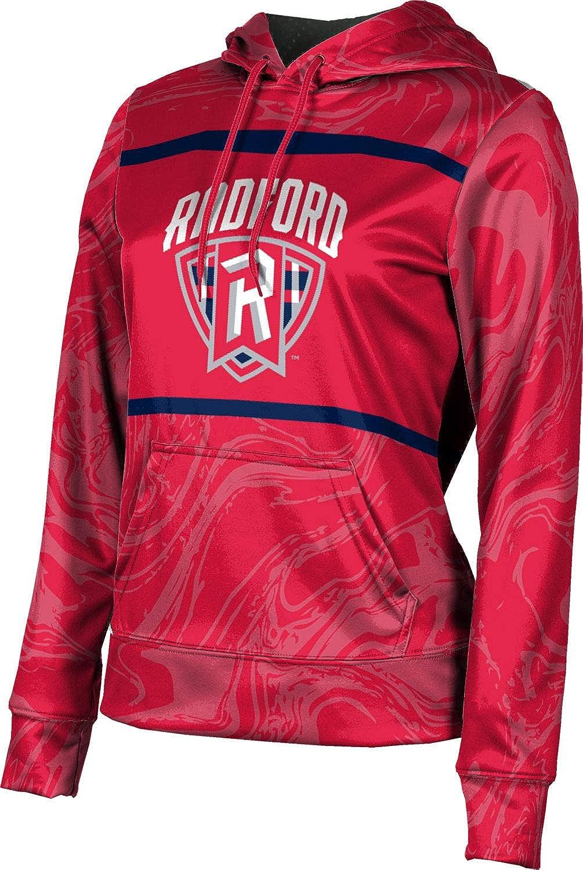 ProSphere Radford University Girls' Pullover Hoodie, School Spirit Sweatshirt (Ripple)