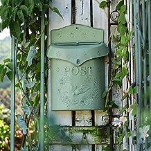 Franse brievenbus Villa Tuinieren Outdoor Reliëf Brievenbus Retro Pastorale Kunst Bloemwinkel Cafe Muur Opknoping Decorati...