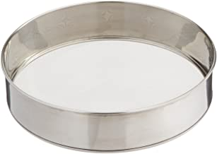 Scandicrafts Stainless Steel 10.25 Inch Fine Mesh Flour Sifter (1, 10.5)