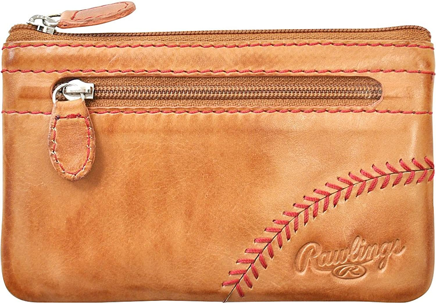 Rawlings Baseball Stitch Pouch With Credit Card Insert