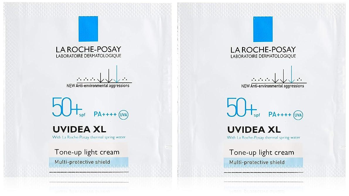 La Roche-Posay(ラロッシュポゼ) 【トーンアップUVサンプルセット】UVイデア XL プロテクショントーンアップ 2mL x 2枚セット ?SPF50+/PA++++?