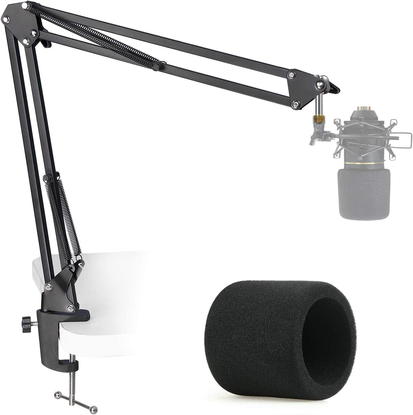 MXL 770 990 Sales results No. 1 Microphone Stand with Mic - Bo Time sale Pop Filter Suspension