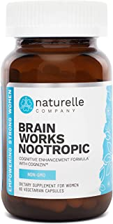 Sponsored Ad - Naturelle Brain Works | Cognitive Enhancement Formula with Cognizin® | Doctor-Approved All-Natural Brain Su...