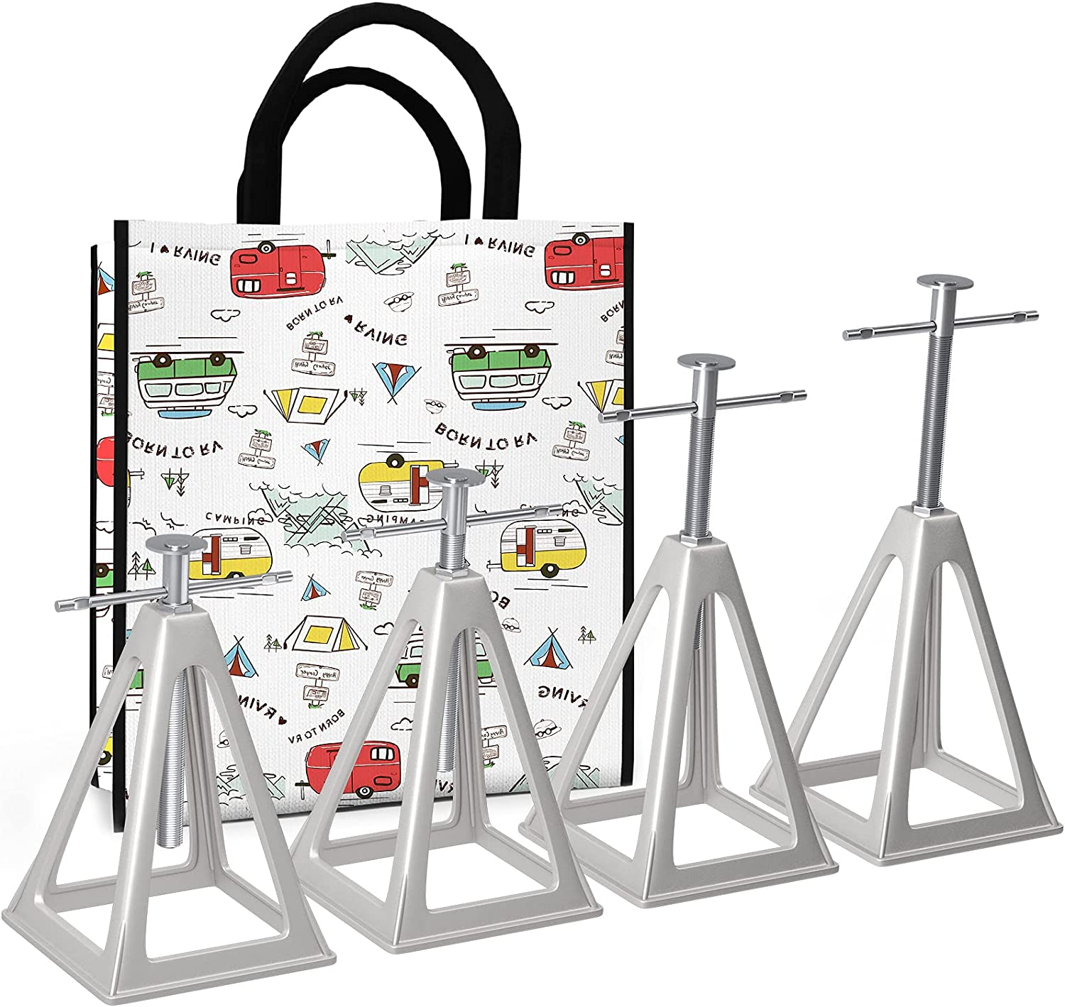 RVMATE Stack Jack 4 Pack for Stabilizati Trailer New York Mall and RV Camper Max 86% OFF