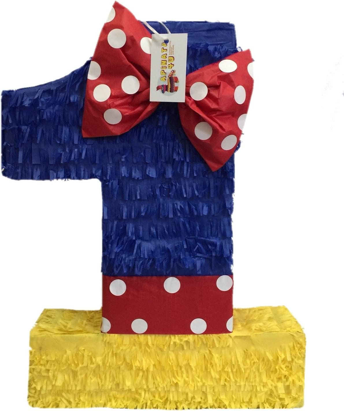 APINATA4U Multi-Color Number Courier shipping free shipping One Pinata Theme Princess Easy-to-use