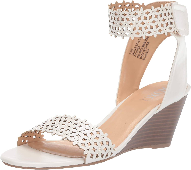 XOXO Women's Sadler Wedge Sandal