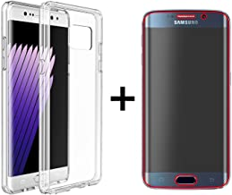 JNSupplier Full Body Cover Screen Protector & Clear TPU Bumper Case for Samsung Galaxy S6 (Samsung Galaxy S6)