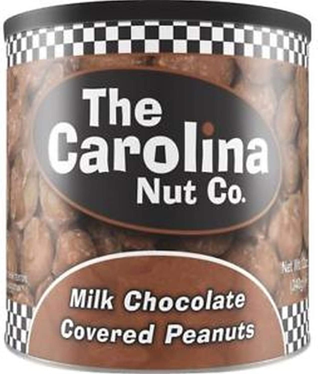Max 85% OFF Carolina Nut Co. Chocolate Covered Peanuts Case 10 of: Luxury goods Can - oz.