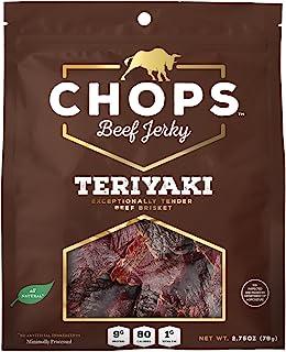 Chops Beef Jerky Teriyaki, 2.75 oz