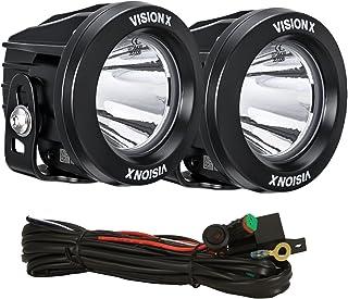 Vision X Lighting 9141343 XIL OPR120KIT Optimus Rund Kit Series Fernscheinwerfer 2x1 LED 10W 20°  2104 lm