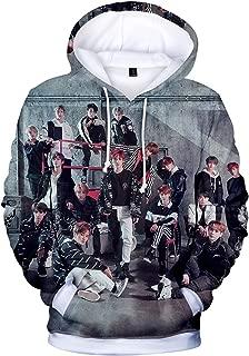 CHAIRAY Kpop NCT Hoodie NCT U 3D Print Sweater Mark JaeHyun Jisung Taeil TaeYong DoYoung Jacket