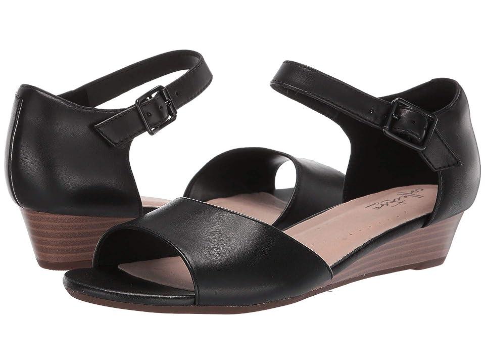 235afc25d31 Clarks Abigail Jane (Black Leather) Women