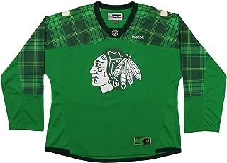Reebok NHL Womens Chicago Blackhawks Artemi Panarin #72 Player Clover Jersey