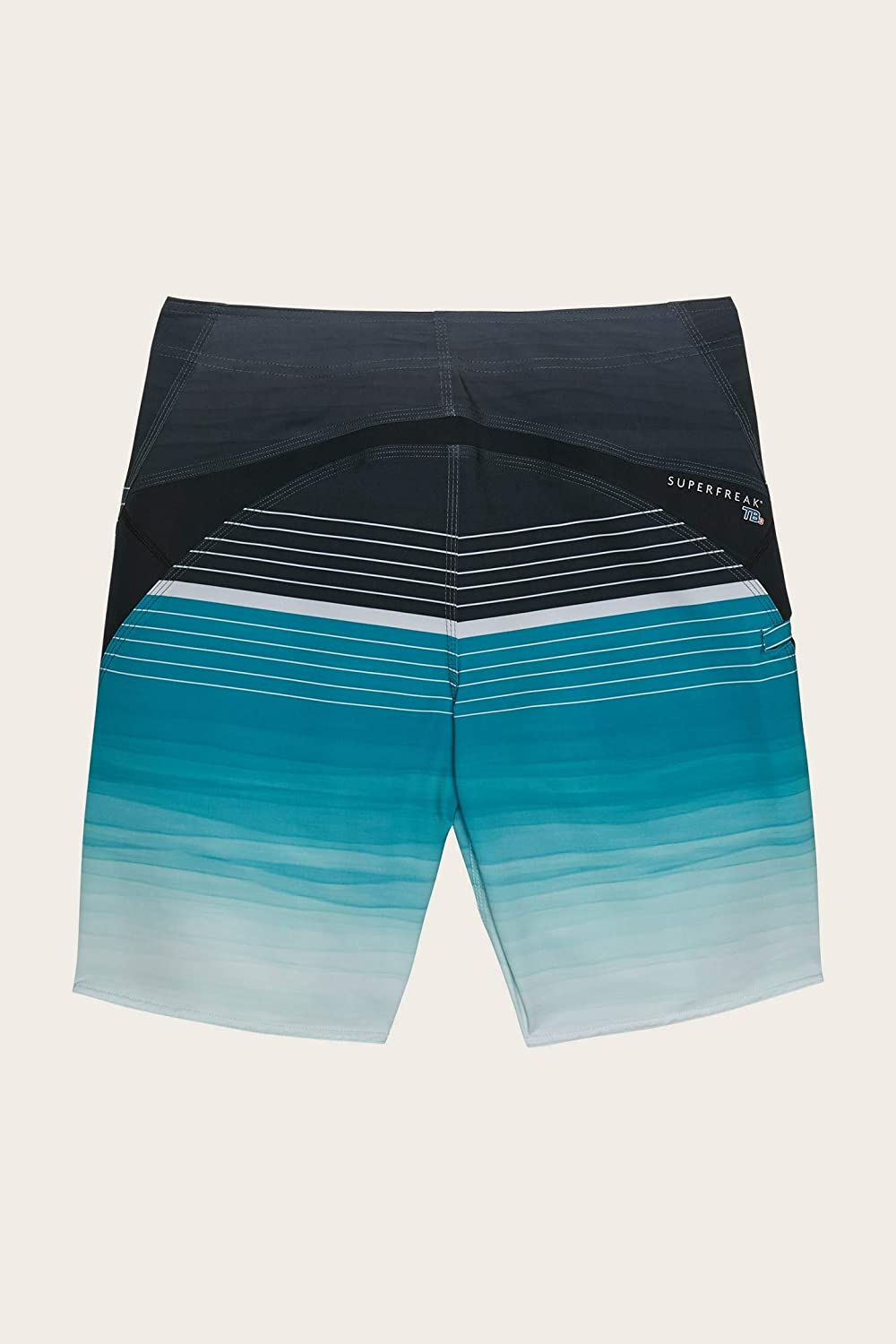 ONEILL Mens Water Resistant Superfreak Stretch Swim Boardshorts 20 Inch Outseam Mid-Length Boardshort