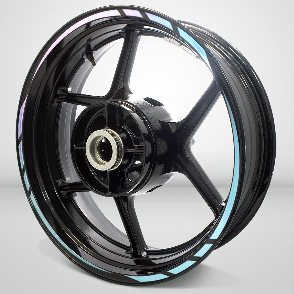 Rapid Outer Houston Mall Rim Liner Max 44% OFF Stripe for Ameth Tone 650 Ninja 2 Kawasaki