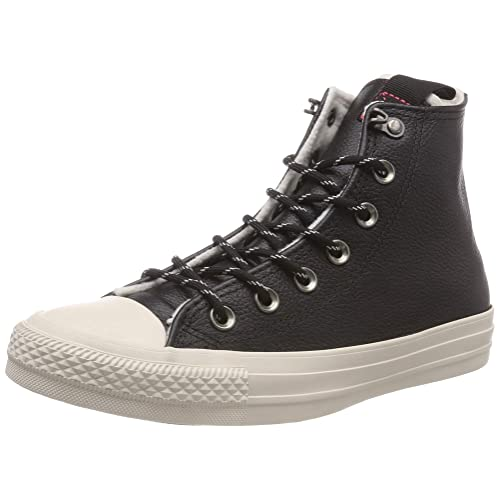 85a610ea0cdf Converse Unisex Chuck Taylor As Hi Black Mono Basketball Shoes