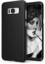 Ringke Slim Compatible with Galaxy S8 Plus Case Dazzling Slender Laser Precision Cutouts Fashionable Superior Steadfast Bolstered PC Hard Skin Cover for Galaxy S8 Plus - SF Black