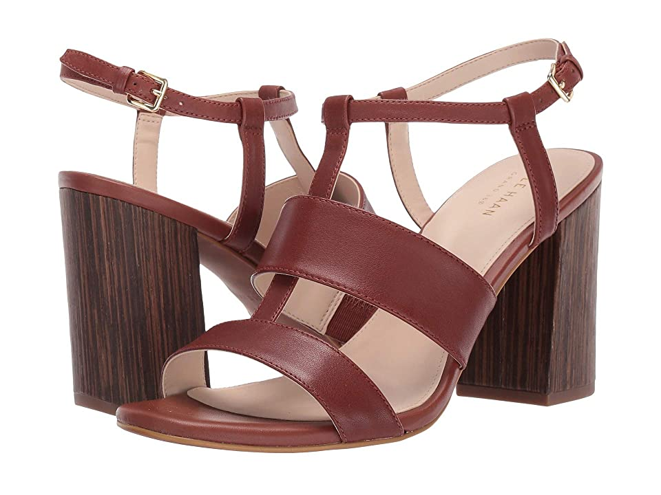 Cole Haan Cherie Grand Block Sandal (Cherry Mahogany) Women