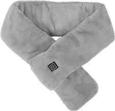Houd je nek warm, USB-verwarmde sjaal, USB-warmtesjaal, wintervoorraad(grey, Pisa Leaning Tower Type)