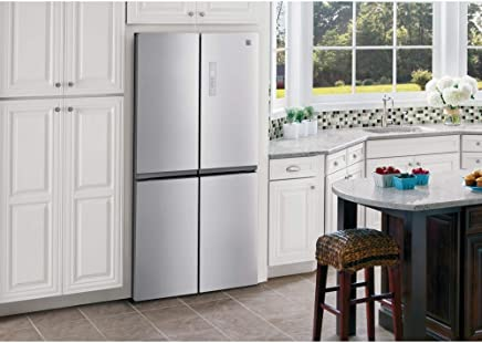 Kenmore 70013 17.4 cu. ft. 4-Door French Door Refrigerator - Stainless Steel