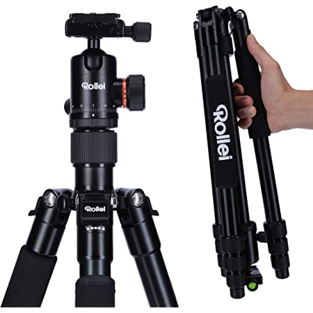 Rollei C5i I Kompaktes Leichtes Allround Fotostativ Kamera