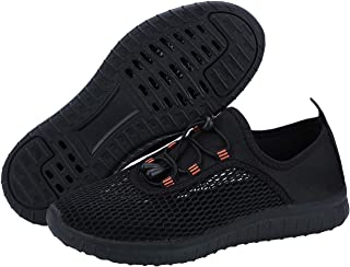 ANYUETE Men's Quick Dry Aqua Water Shoes Lightweight Athletic Sports Shoes