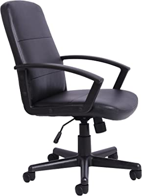 Oficina Essentials Altura Ajustable Director Silla de Oficina, Otros, Negro