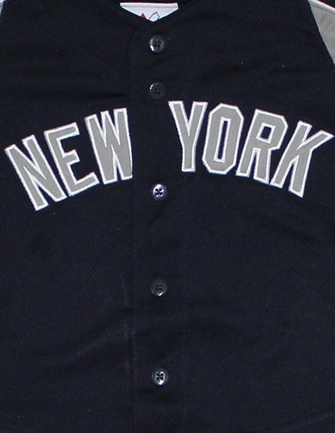 2 piezas conjunto niño MLB béisbol New York Yankees Camisa y ...