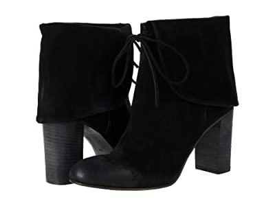 Free People Mila Heel Boot (Black) Women