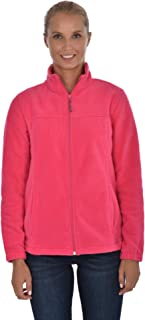 Swiss Alps Ladies Polar Fleece Jacket, Pink Raspberry, XL